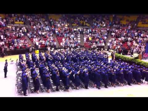 West Monroe high school graduation 2012