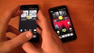 HTC DROID DNA vs. HTC One X+ Dogfight Part 2