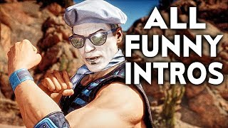 MORTAL KOMBAT 11 ALL Funniest Intro Dialogues MK11 Funny Intros Character Banter Interaction