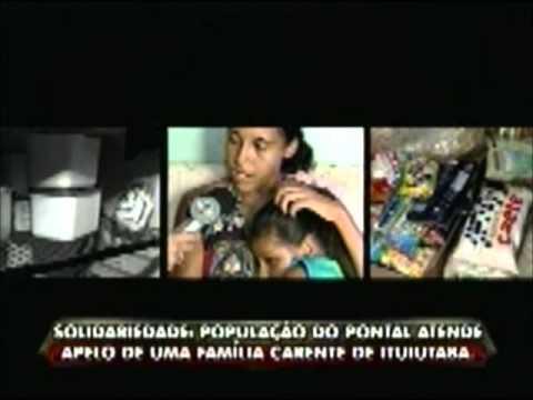 Garota portadora de deficiência recebe ajuda em Ituiutaba
