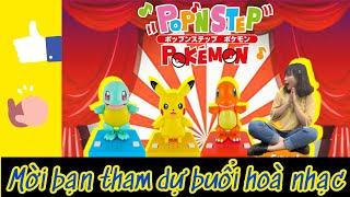Chơi thử hộp nhạc Pop'n Step Pokemon - Mô hình lắc lư cùng giai điệu bài hát thật đáng yêu | nShop