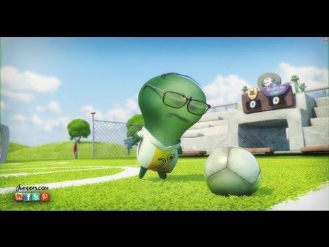 Pazzi per il calcio! – Glumpers e sport, cartoni animati