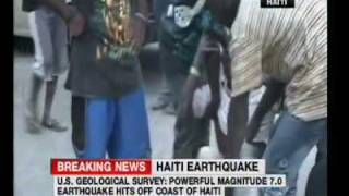 Haiti Earthquake - Horror 13 Jan 2010