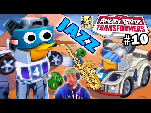 Jazz Pops Pigs! New Angry Birds Transformers Update! (saving Bubbles) Part 10 video
