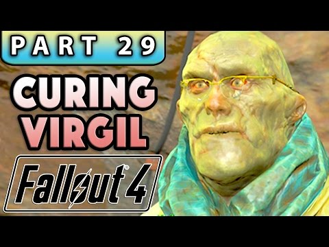 FALLOUT 4 Gameplay Walkthrough Part 29 - VIRGIL'S SERUM