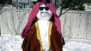 جدل حول فتوى تحرم صنع رجل الثلج في السعودية