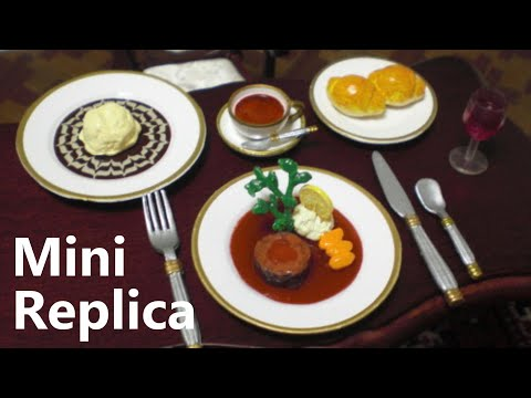 RE-MENT collection #6 - European / Chinese food (Inedible)