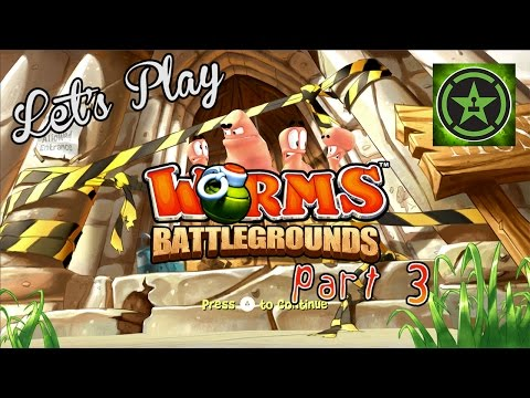 Let's Play - Worms Battlegrounds Part 3
