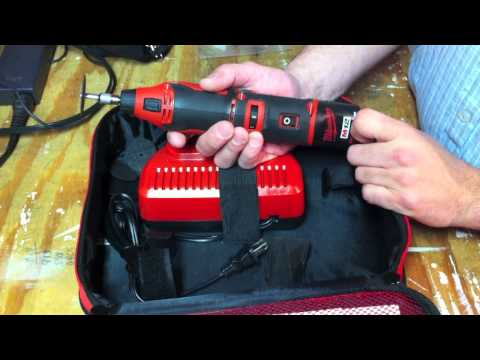 Milwaukee 2460-21 M12 Rotary Tool - Review