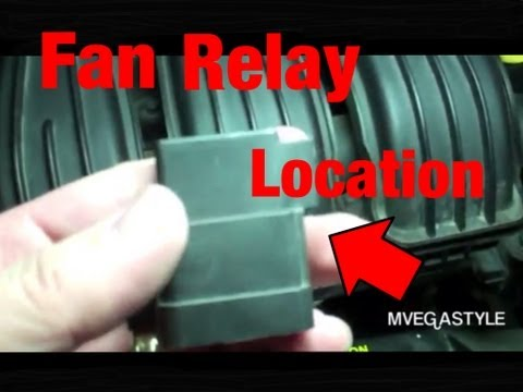 2008 PT Cruiser Fan Relay Location