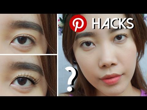 Pinterest Beauty Hacks: Fuller & Thicker Lashes