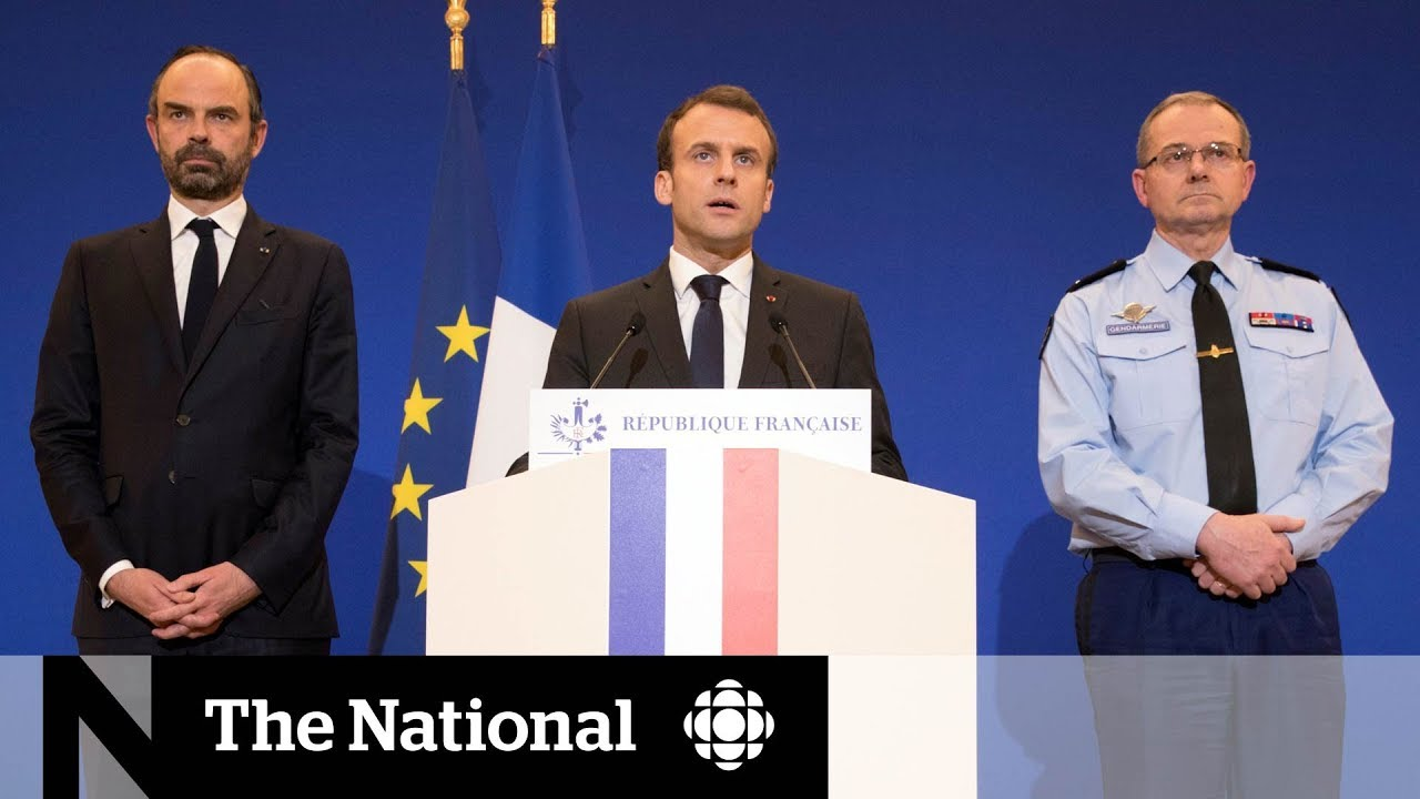 Macron: Hostage-taking in Trèbes likely a terrorist attack