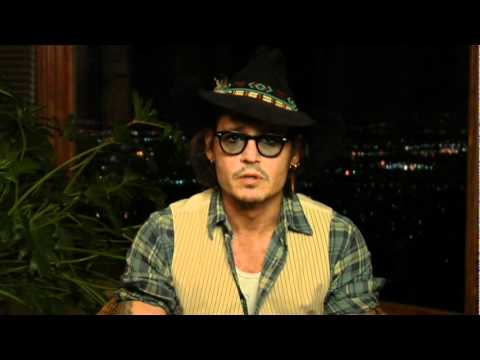 Johnny Depp's message for Dad on APWA Lifetime Achievement Award 2012