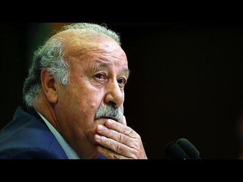 Vicente del Bosque quitte son poste d'entraîneur de l'Espagne