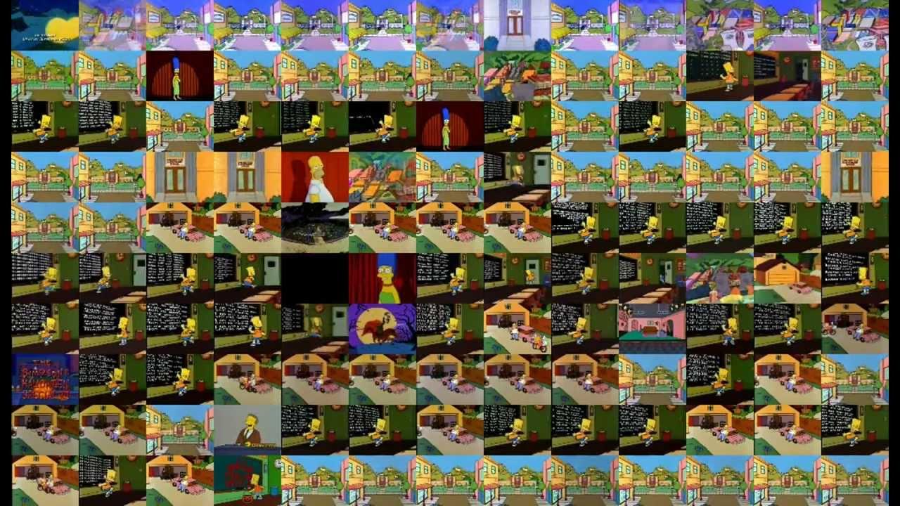 130 épisodes des Simpson en simultané