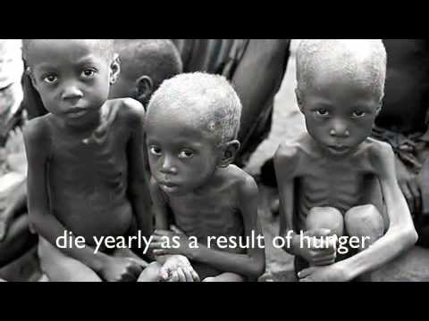 Starving Children in Africa
