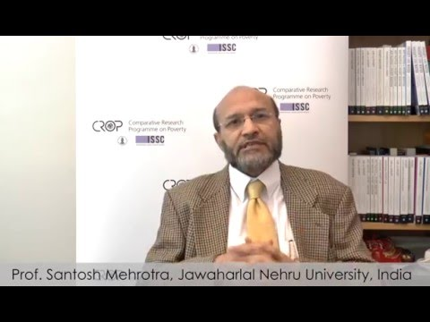 Visualising Poverty Research | Interview with Santosh Mehrotra