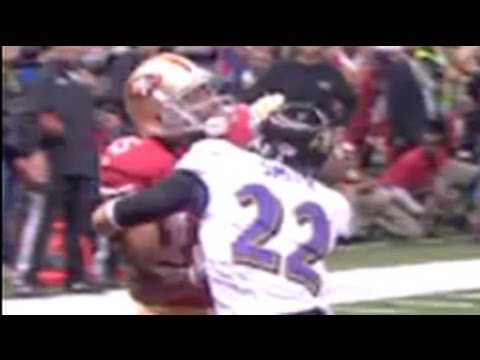 Michael Crabtree vs Jimmy Smith Super Bowl XLVII