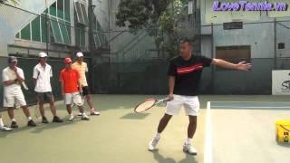 HLV Trương Quang Vũ hướng dẫn khởi động Tennis Phần 2