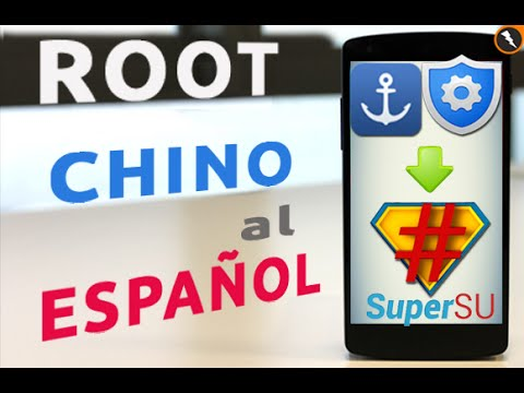 Root en Español: Cambiar de idioma chino al español la aplicacion de Superusuario Root