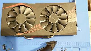 Asus EXPEDITION  RX 570 naprawa i tuning