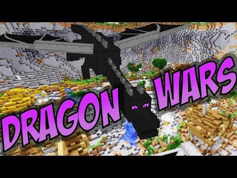 Minecraft: DRAGON WARS w/ Docm77 and TerasHD