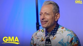 Jeff Goldblum discusses his Disney+ show, 'The World According to Jeff Goldblum'
