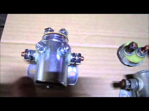 How A Starter Solenoid Works And Looks Inside