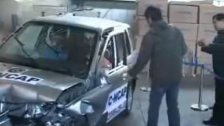 Video Daihatsu Terios ~ Crash Test Copied Toyota Rush   Daihatsu Terios Frontal Offset Test C NCAP