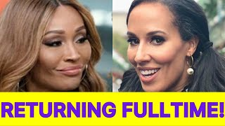 JUICY NEWS! Cynthia Bailey Confirms Return To #RHOA But Takes A 50% Pay Cut As Nene Gets A Raise