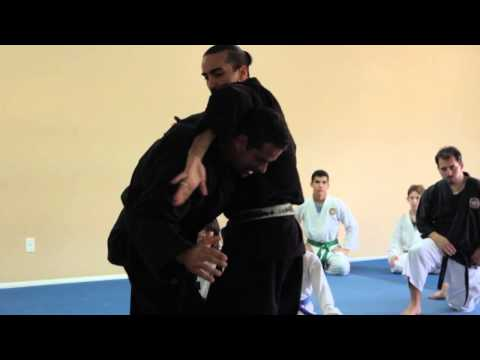 Jukido Jujitsu - Uki-Waza with Shime-Waza Self-Defense Application Image 1