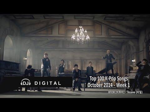 Top 100 K-Pop Songs for October 2014 Week 1