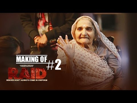 Making of Raid |  Pushpa Joshi | Ajay Devgn | Ileana D'Cruz | Raj Kumar Gupta