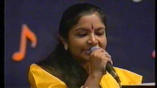 Kannalane - KS Chithra Live Performance