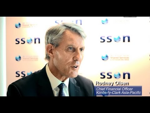 Interview with Rodney Olsen, CFO, Kimberly-Clark Asia-Pacific at SSOW Asia 2015