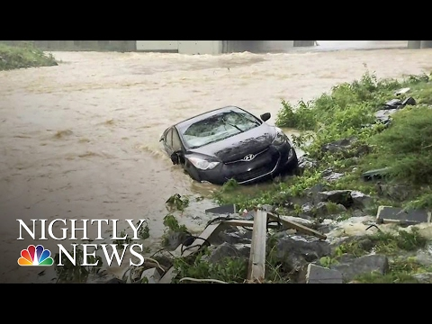 At Least 20 Dead in Historic West Virginia Flooding | NBC Nightly News