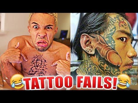 Die 30 LUSTIGSTEN TATTOO FAILS !!