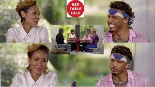 JADA Pinkett TELLS ALL about SINGER August Alsina, their RELATIONSHIP & how she helped him! DETAILS!
