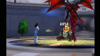 Final Fantasy 8 - Diablos(in the party) vs Cerberus