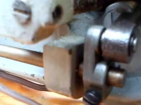 mecanismo de una mquina de coser