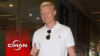 Andreas Beck İstanbul'a Geldi!