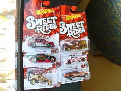 2014 Hot Wheels SWEET RIDES Unboxing Video KROGER