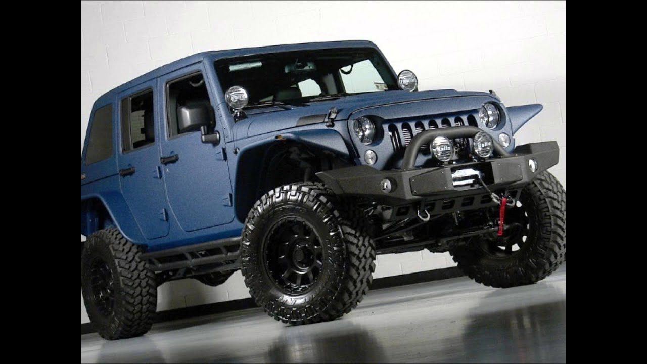 Lifted Jeep Wrangler >> 2014 Jeep Wrangler Unlimited Kevlar Coated Lifted Jeep - YouTube