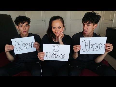 DIRTY NEVER HAVE I EVER ft. Our Mom!