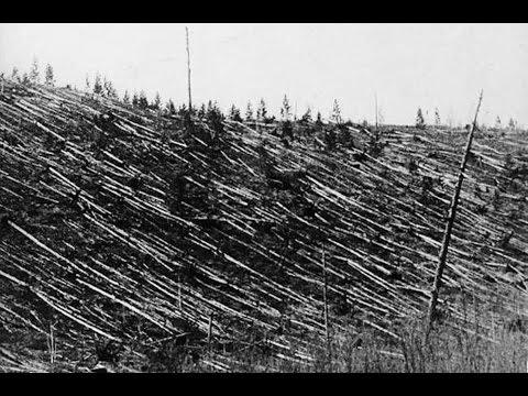 Tunguska event  asteroid 1908 Google Earth