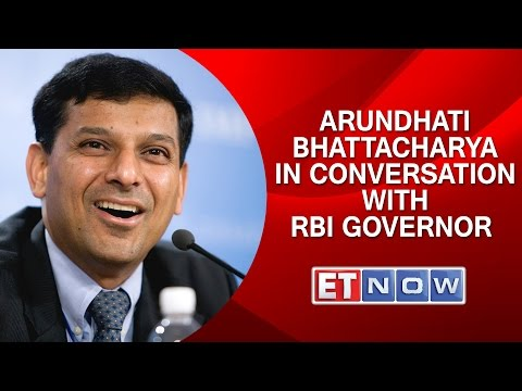 SBI's Arundhati Bhattacharya In Conversation With RBI Governor Raghuram Rajan