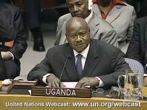 MaximsNewsNetwork: YOWERI KAGUTA MUSEVENI @ UN: NUCLEAR WEAPONS
