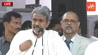 Chalasani Srinivas Rao Speech @Chandrababu Naidu Dharma Porata Deeksha at Vijayawada