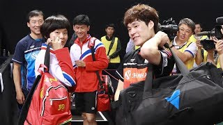 Unified table tennis team fielded as sporting links between ROK and DPRK grow