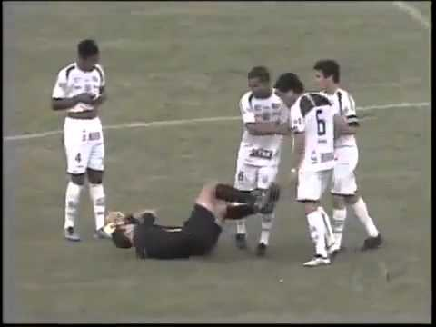 Referee Dives After Giving Red Card, Shameless